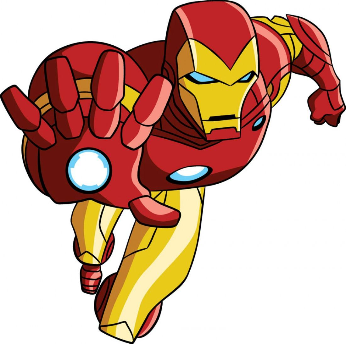 Iron man clipart free images 2