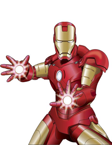 Iron man clipart free images 6