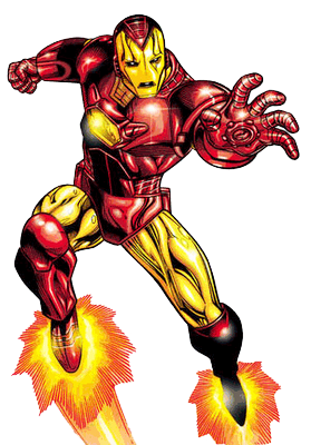 Iron man clipart vector free images