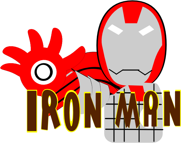 Iron man images clipart