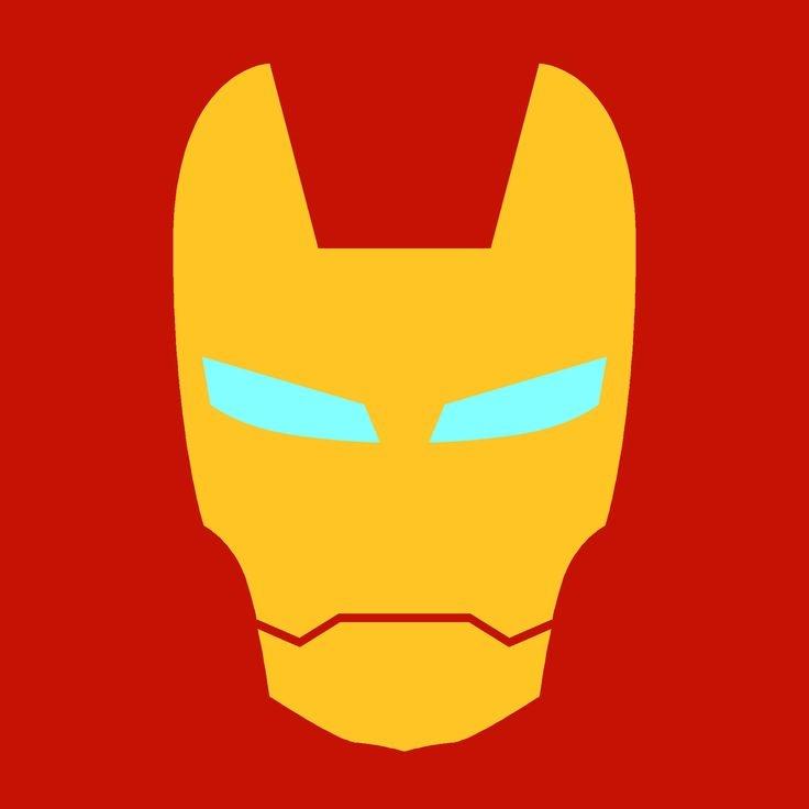 Iron man logo clipart 3
