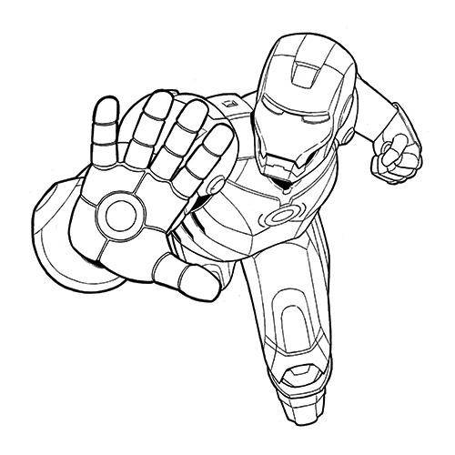 Iron man power clipart clipartfox