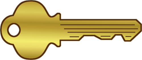 Key clip art 2 2