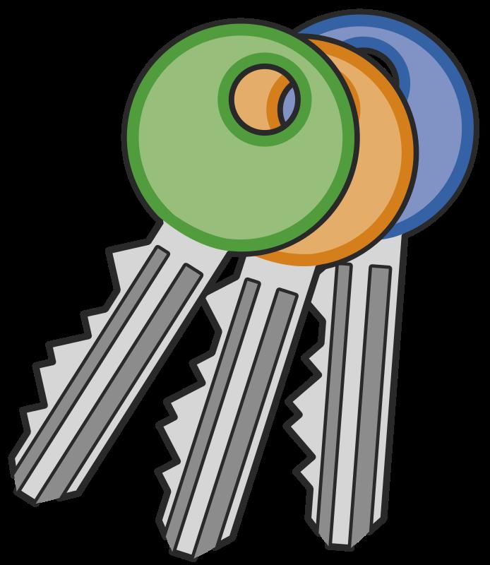 Key free to use clip art 3
