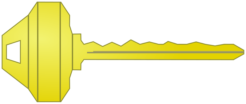 Key free to use clipart