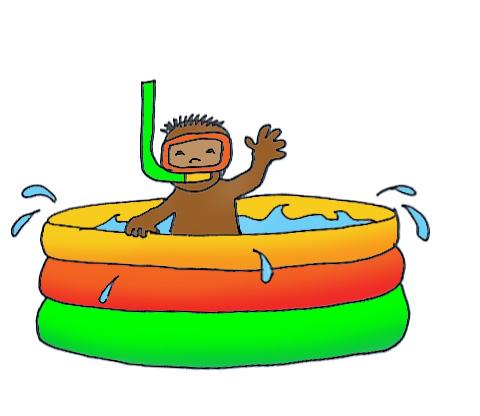 Kiddie pool clipart free images