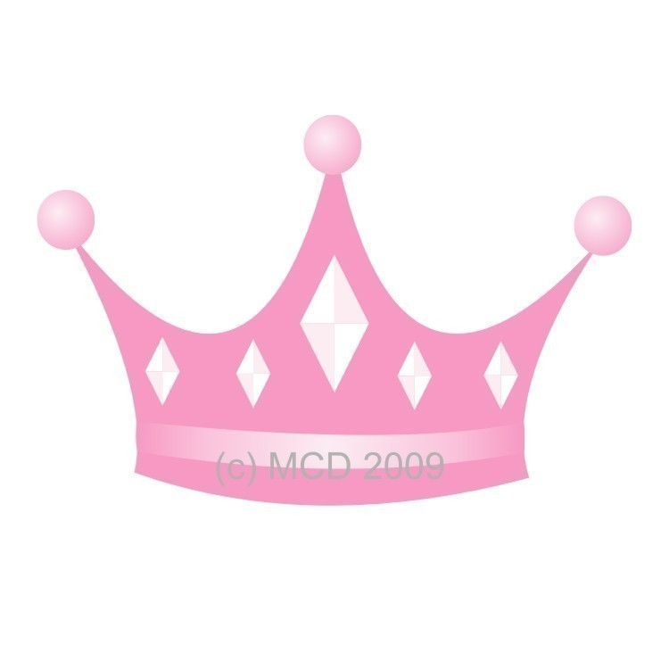 Kids tiara clipart