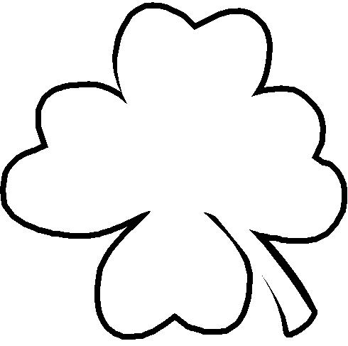 Leaf outline clipart 3