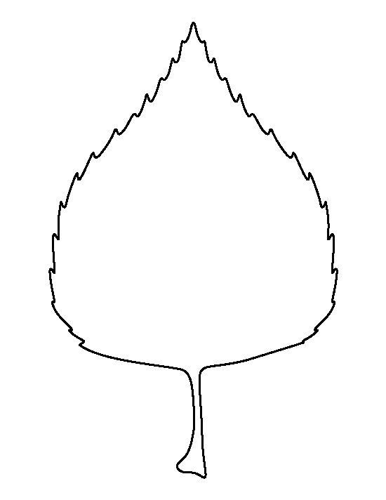 Leaf outline fall leaves clipart 2 clipart