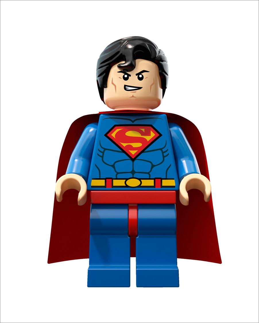 Lego superman clipart