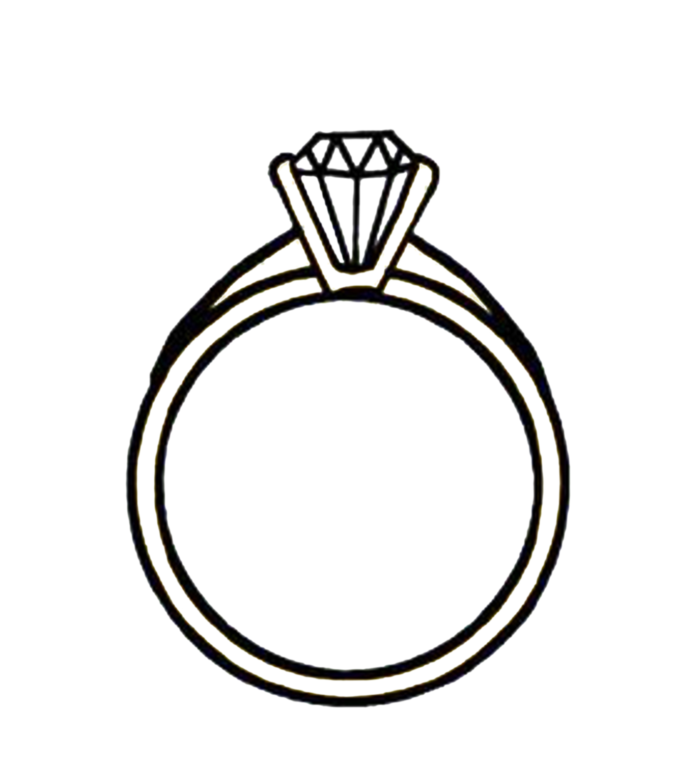 Linked wedding rings clipart free images 5