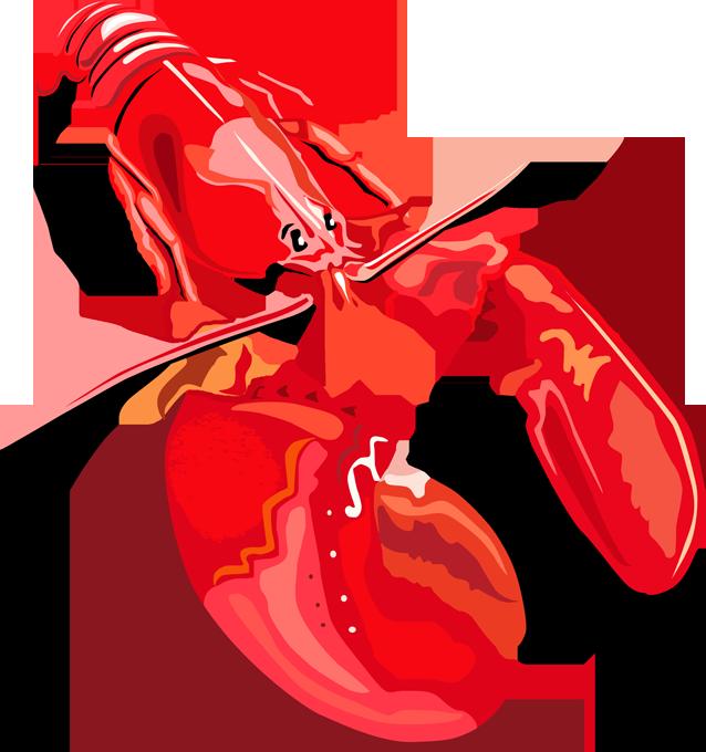 Lobster clip art 2