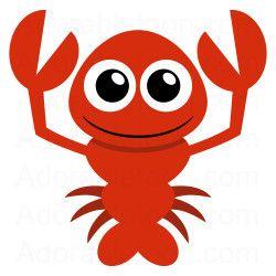 Lobster clip art free