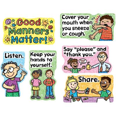 Matter good behavior clipart