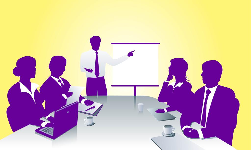 Meeting clip art 3