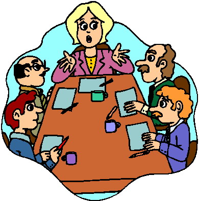 Meeting clipart free images 4