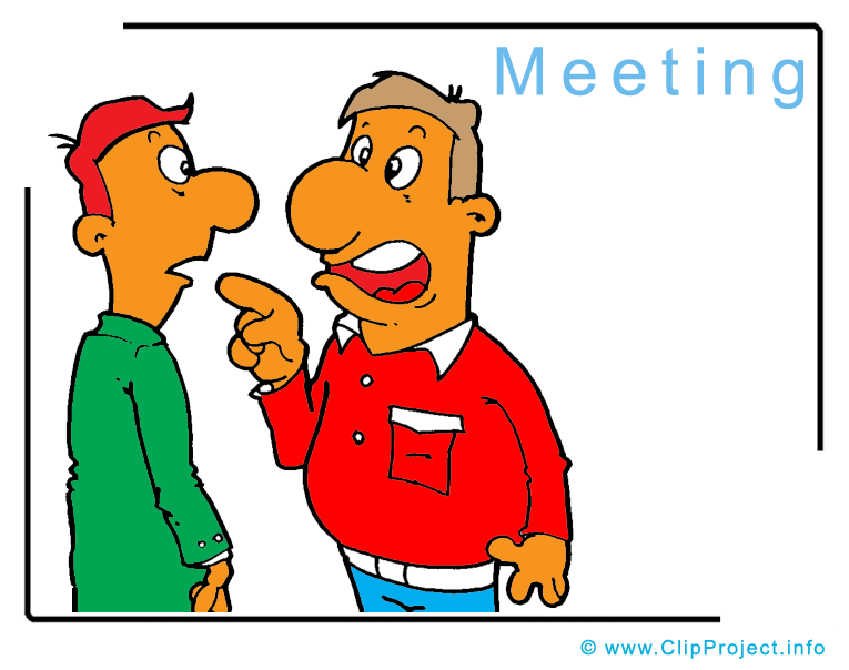 Meeting clipart image business images for free