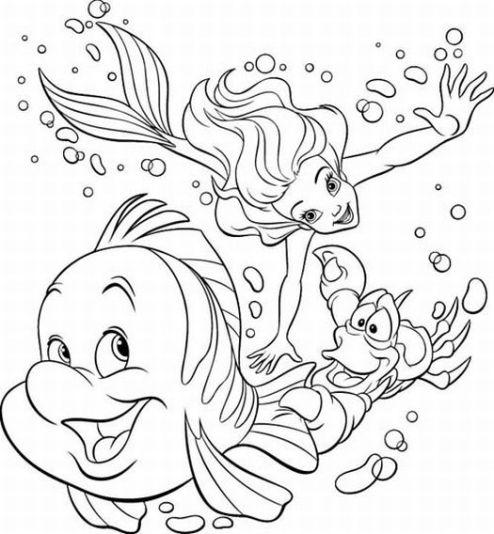 Mermaid  black and white little mermaid clipart black and white clipartfox 2