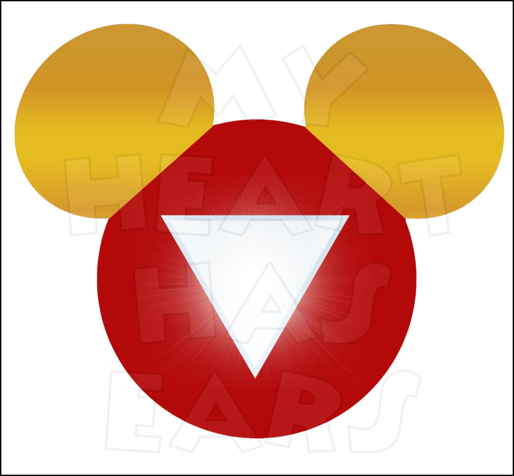 Mickey mouse dressed as iron man instant download digital clip art