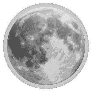 Moon clip art download