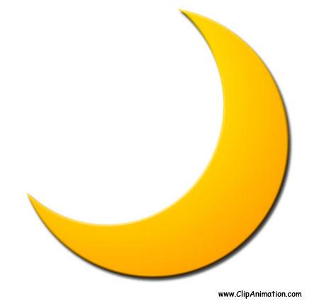 Moon clip art free clipart images 5
