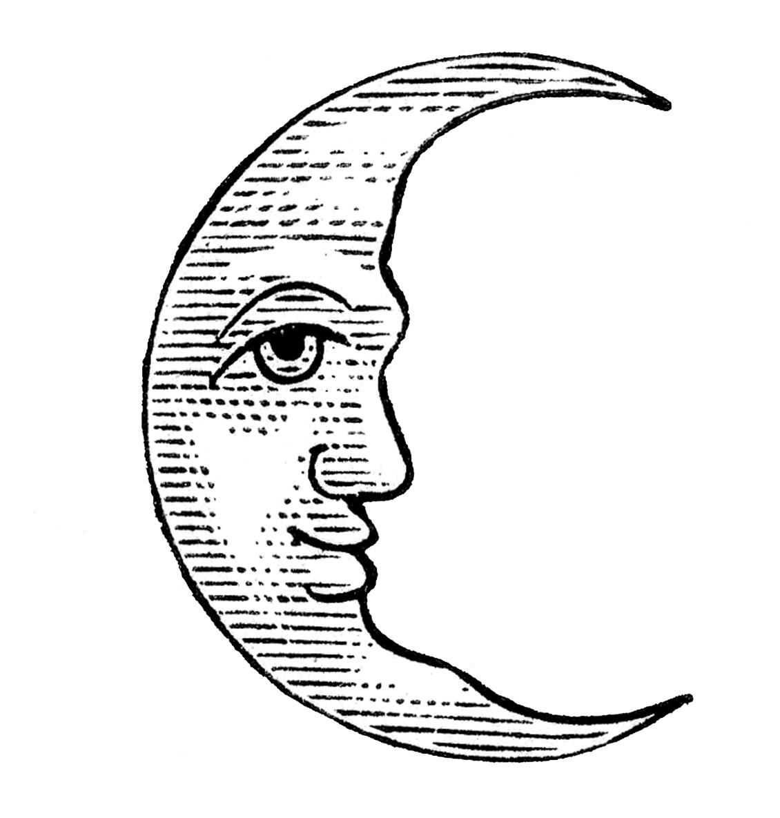 Moon clipart free clip art 2
