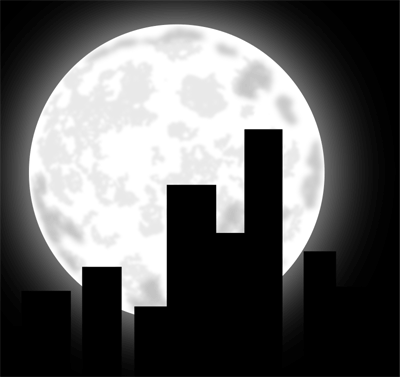 Moon clipart graphics of moons lunar phases