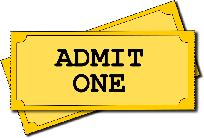 Movie ticket clipart free images 2