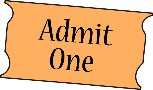 Movie ticket clipart free images 6