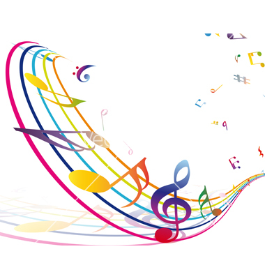 Music border colorful music note border free clipart images 2
