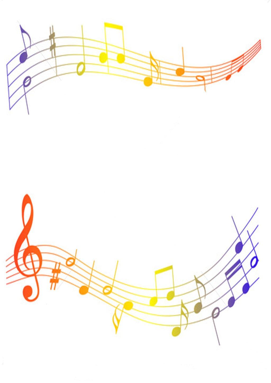 Music border music note border 0 2