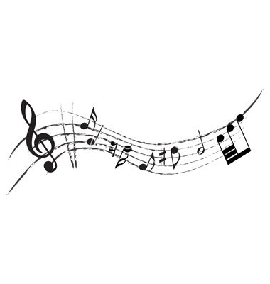 Music border music note border landscape clipart 7