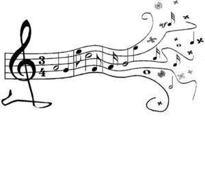 Music border musical borders music note border clipart 4