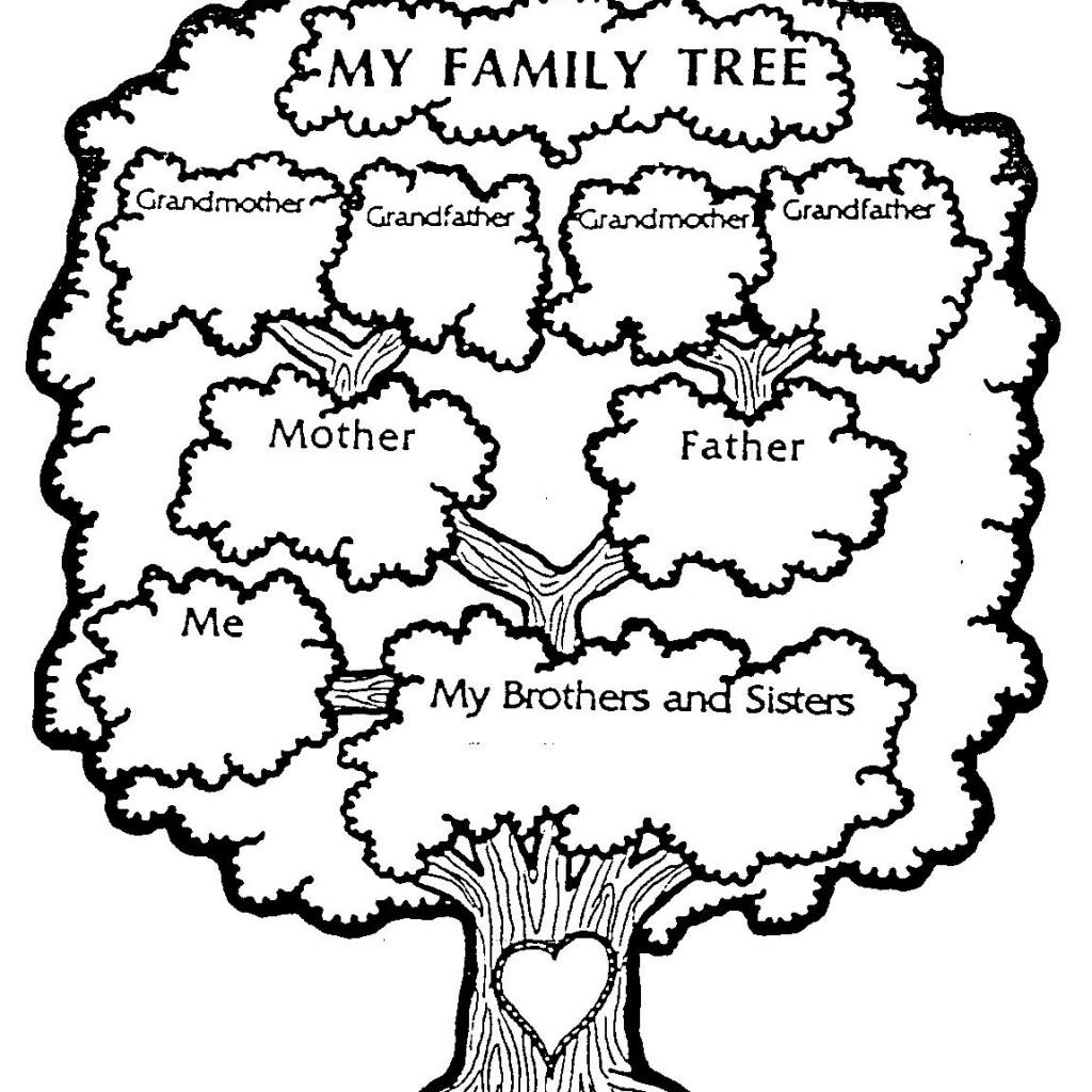 My family tree clipart 2
