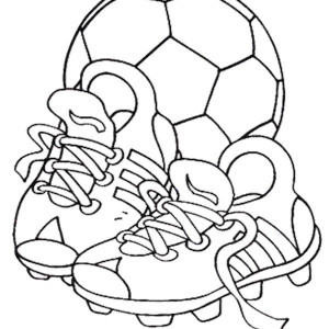 Nike soccer cleats drawing more info clipart