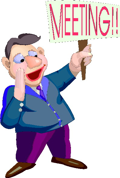 Office meeting clipart 2