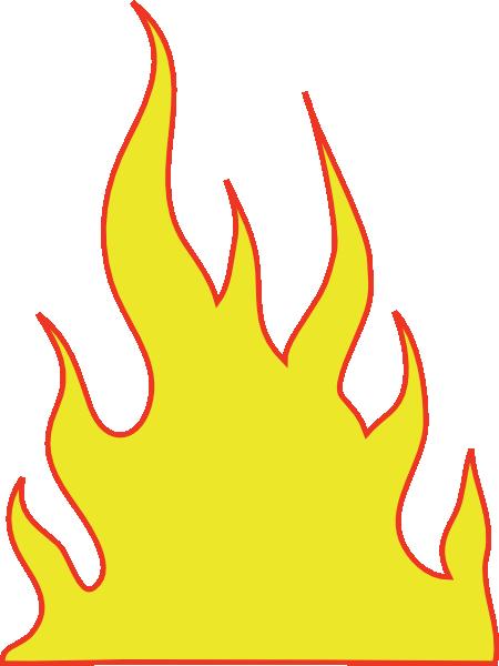 On fire clip art at vector clip art