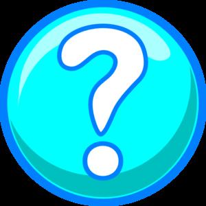 Orange question mark clipart free images 2