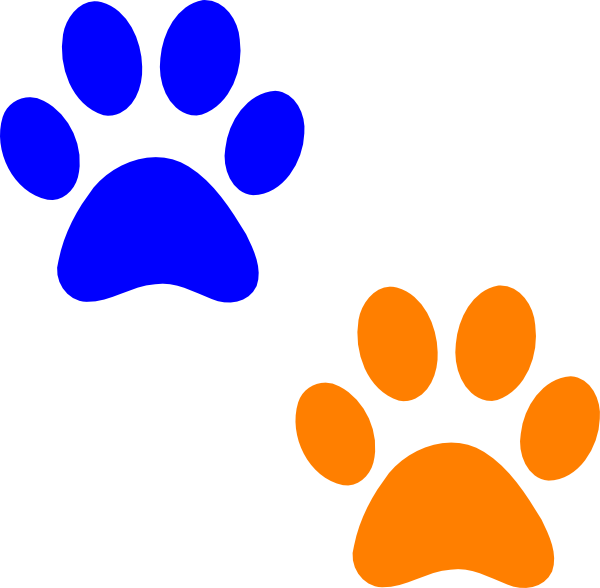 Paw print wildcats on dog paws paw tattoos and clip art image 3