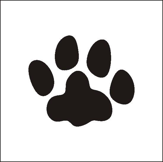 Paw prints cat paw print clip art image freevectors clipart