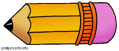 Pencil clip art for kids free clipart images