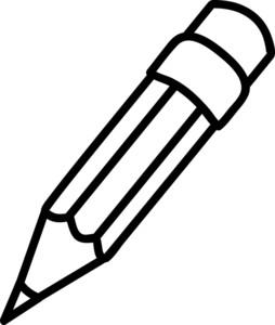 Pencil clip art free clipart images 2