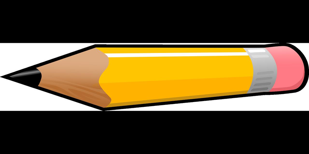 Pencil clipart 2