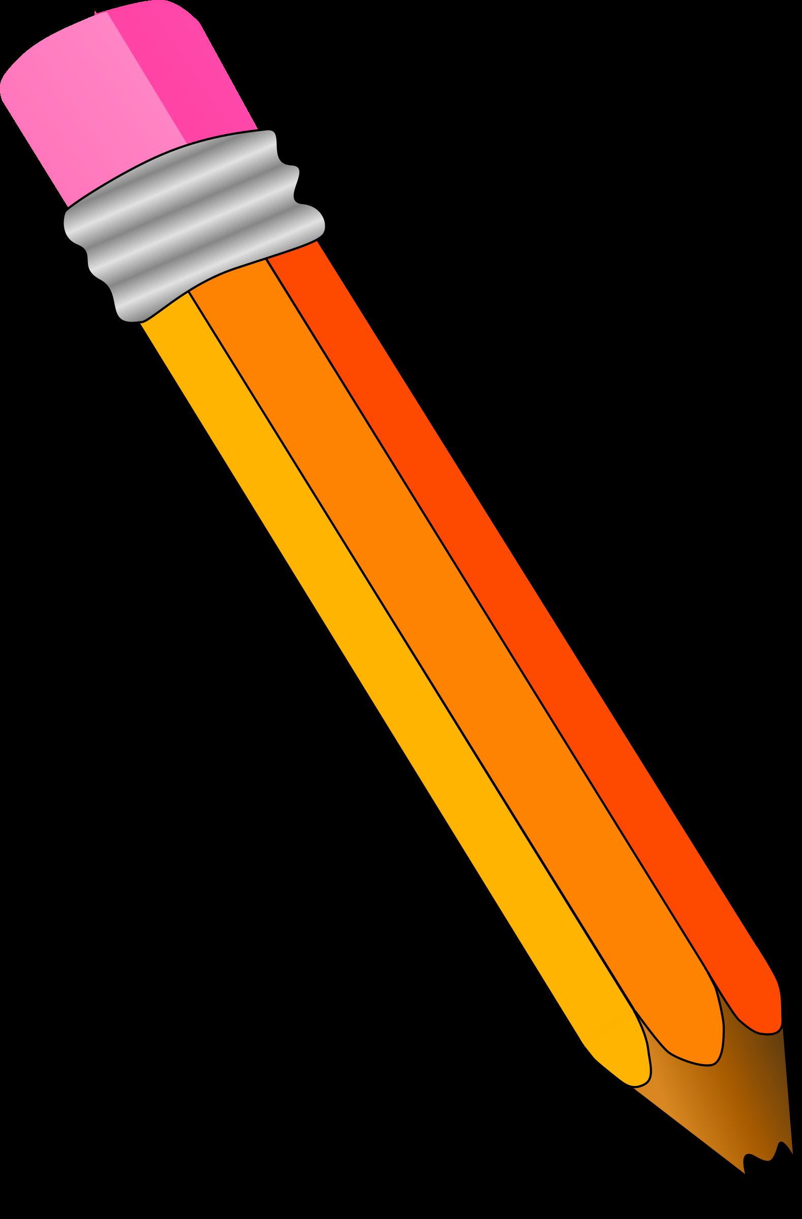 Pencil clipart 3