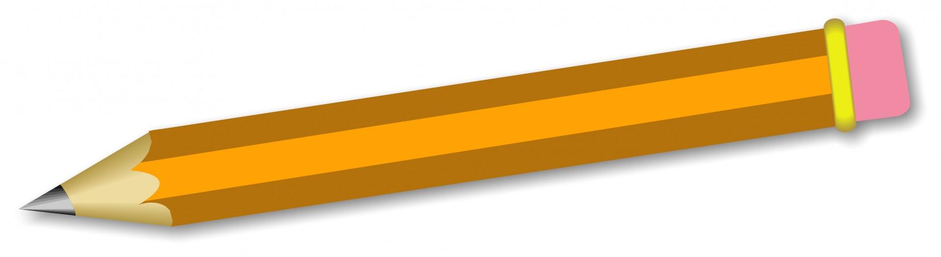Pencil clipart 4