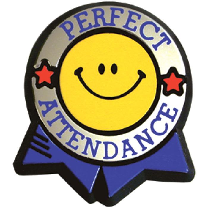 Perfect attendance clip art 2