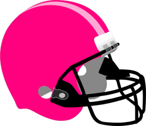Pink football helmet clip art clipartfox