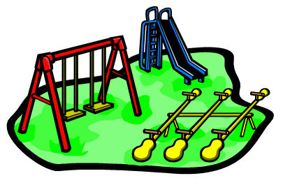 Playground clip art school free clipart images