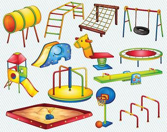 Playground clipart 4 2