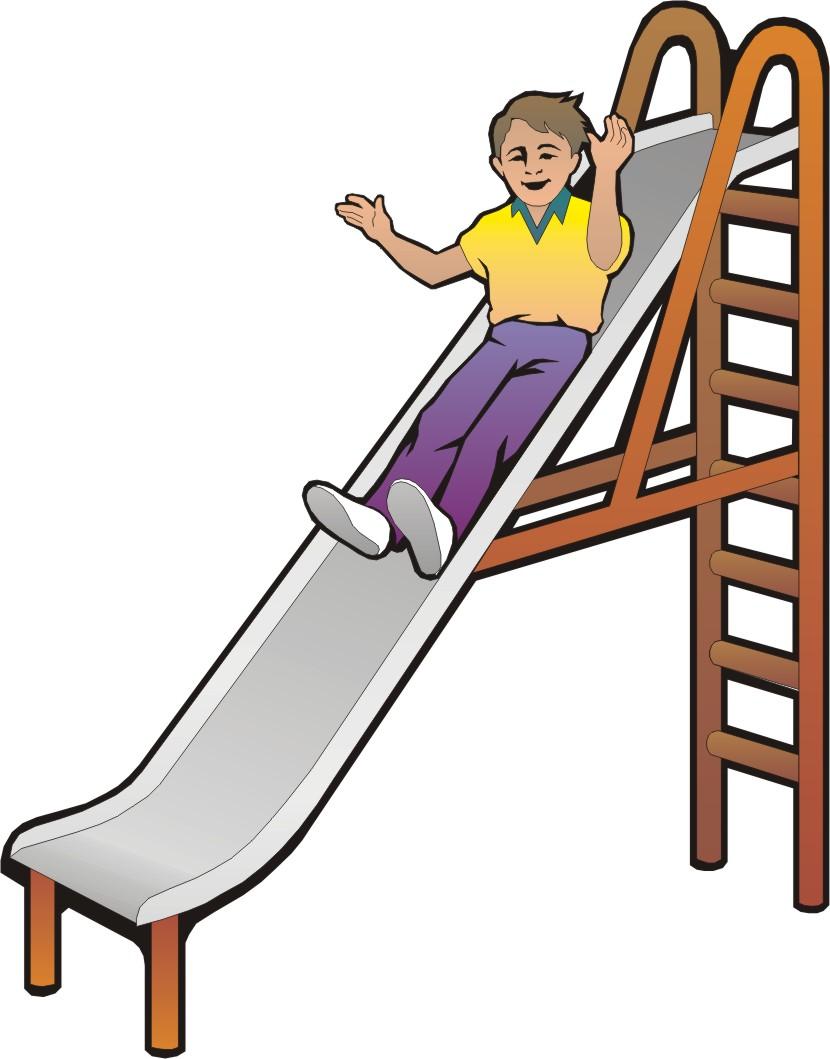 Playground slide clipart 2